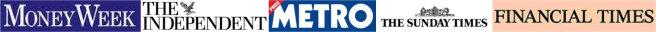 moneyweek-financialtimes-sundaytimes-metro-independent-logos