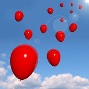 99 red balloons in the sky
