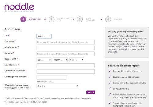 noddle UK credit rating form 2