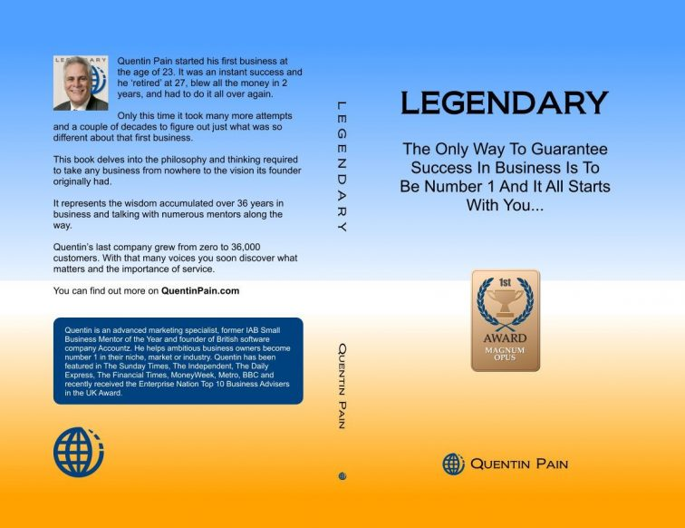 Legendary The Book And Guide To Business Front Cover