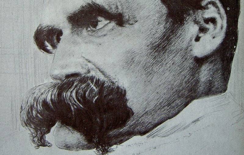The Perfect Day - Friedrich_Nietzsche_drawn_by_Hans_Olde