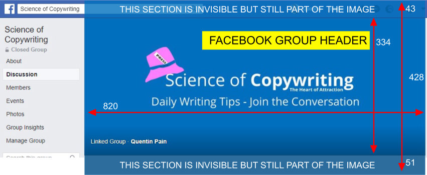 Facebook Group Header Image 820x428